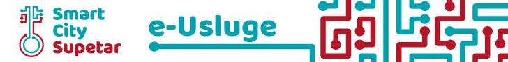 Banner za promoviranje e-Usluga grada Supetra