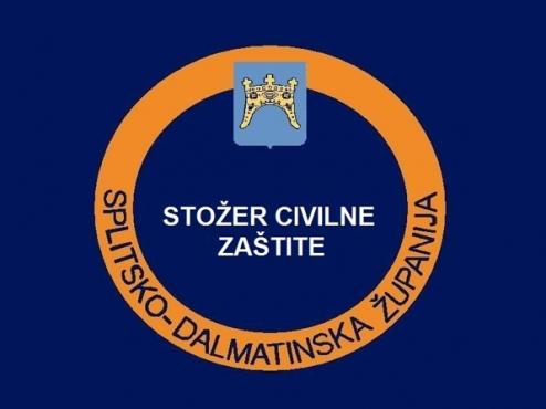 Ilustracija logotip stožera civlne zaštite splitsko dalmatinske županije