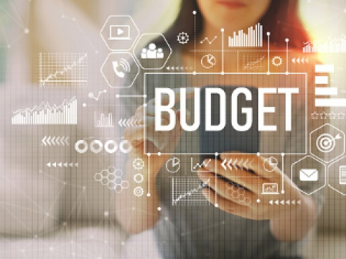 Ilustrativna fotografija informatičke prezentacije gradskog budžeta