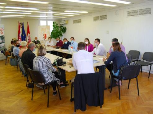 fotografija konstituirajuće sjednice gradskog vijeća Supetra