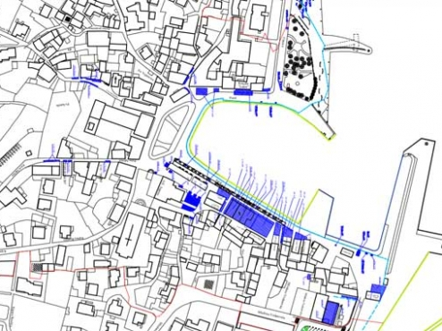 Ilustrativna karta javnih površina