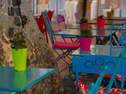 Ilustrativna fotografija bašte kafića