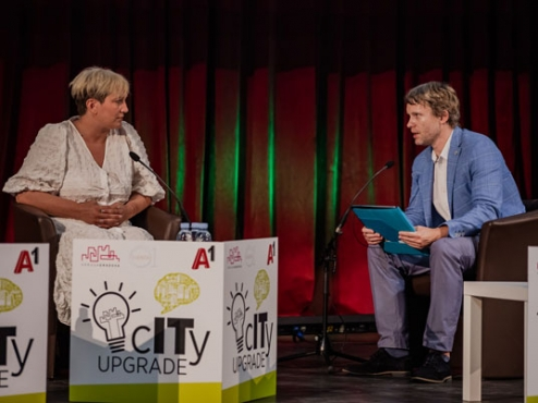 Fotografija sa konferencije city upgrade
