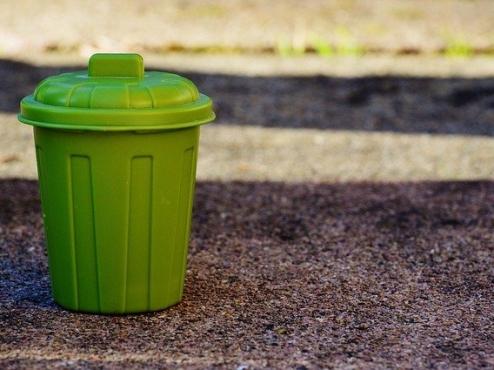 Ilustrativna fotografije kante za otpad