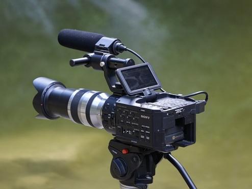 Ilustrativna fotografija filmske kamere