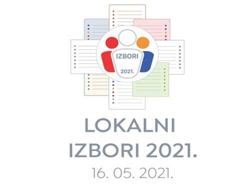 Logotip lokalnih izbora 2021.